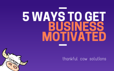5 Ways To Get Motivated